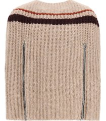 raf simons sweater with zip