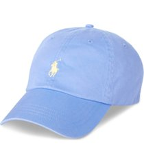 polo ralph lauren men's chino baseball cap