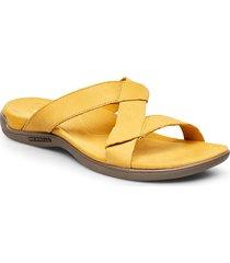 district kanoya slide shoes summer shoes flat sandals gul merrell