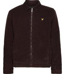 cord jacket jeansjack denimjack bruin lyle & scott