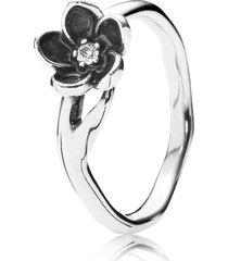 anel de prata rainha da noite