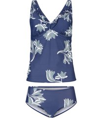 tankini (set 2 pezzi) (blu) - bpc selection