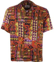 portuguese flannel cabinda vacation shirt - multi ss19016.ss.m