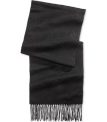 club room men's solid cashmere scarf, created for macy's
