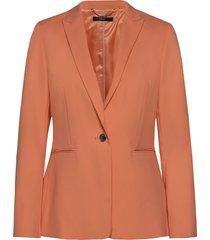 blazers woven blazer colbert oranje esprit collection