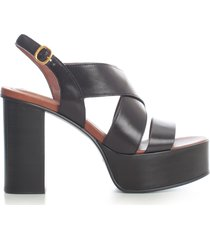 see by chloé capurso pumps sierra calf w/belt on ankle