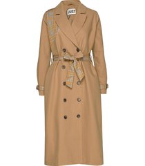 rosalie trench coat trench coat rock brun just female