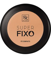 pó compacto rk by kiss super fixo cor creme 15g