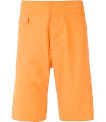 amir slama plain swim shorts - orange