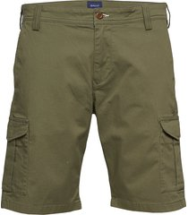 d1. relaxed twill utility shorts shorts casual grön gant