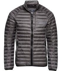core down jacket gevoerd jack grijs superdry
