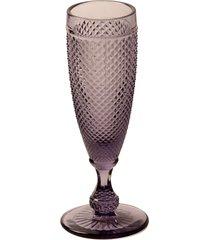 taças de vidro bico de jaca 150 ml roxo