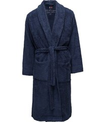 lexington original bathrobe ochtendjas badjas blauw lexington home
