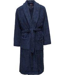 lexington original bathrobe lingerie bathroom robes blauw lexington home