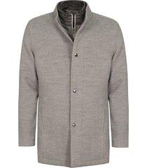 abrigo casual pierre d'agostiny para hombre, ref siberia gris