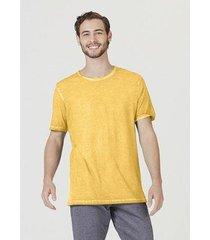 camiseta hering básica manga curta em malha de algodão masculina - masculino