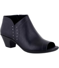 easy street voyage open toe booties women's shoes
