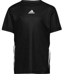 aeroready tee t-shirts short-sleeved svart adidas performance