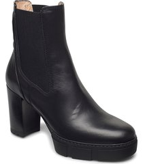 kubel_nf shoes boots ankle boots ankle boots with heel svart unisa