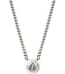 octagon crest necklace - silvers-oct-nec