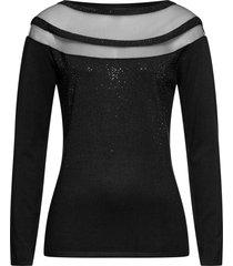 maglione con strass (nero) - bodyflirt boutique
