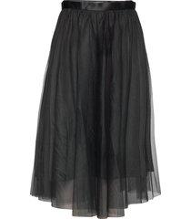 flawless skirt knälång kjol svart ida sjöstedt