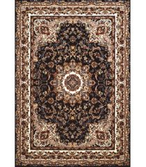 "asbury looms antiquities saraband 1900 01864 58 navy 5'3"" x 7'2"" area rug"