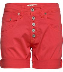 5b shorts cotton shorts denim shorts röd please jeans