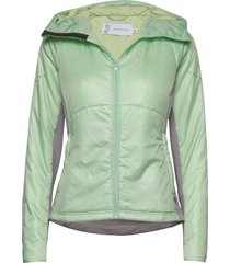 element primaloft jacket fodrad jacka grön johaug