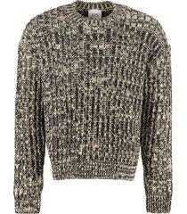 calvin klein jeans wool blend pullover