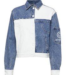 chaq lollypop jeansjack denimjack blauw desigual
