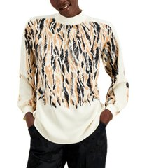 alfani printed high-neck top, created for macy's