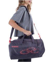 mala olympikus gym bag sm - 37 litros - roxo escuro
