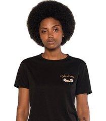 camiseta albedrío regular vale huevo negro