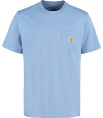 carhartt chest pocket cotton t-shirt