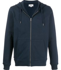 woolrich long sleeve lightweight hoodie - blue