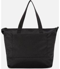 calvin klein jeans women's nylon shopper 29 bag - black