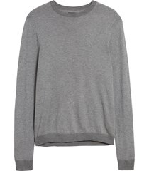 men's nordstrom men's shop birdseye crewneck sweater