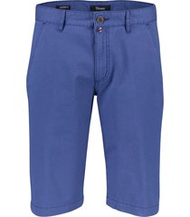 gardeur jasper-3 shorts blauw modern fit