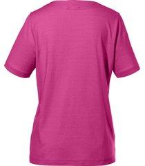 shirt ronde hals van peter hahn roze