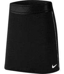 falda court dri-fit nike negro