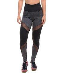 legging com proteção solar sandy fitness fight - feminino