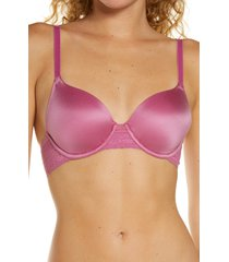 women's b.tempt'd by wacoal future foundations contour underwire bra, size 36dd - pink