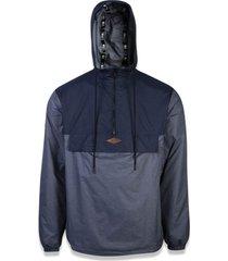 jaqueta esportiva alkaline bright duo cinza - new era