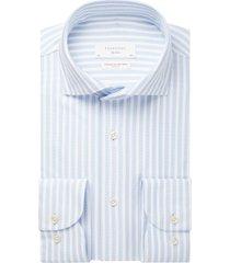 profuomo overhemd lichtblauw slim fit ppsh1c1052/m