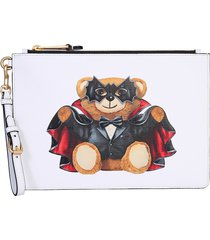 moschino designer handbags, teddy bear pouch
