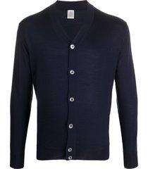 eleventy lightweight cardigan - blue