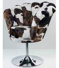 fotel krówka milka tapicerowany fu-100