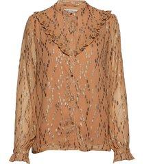 shirt blouse lange mouwen oranje sofie schnoor