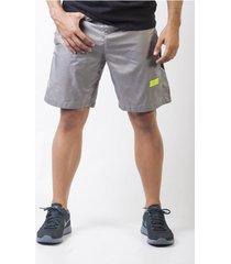 pantaloneta pantaloneta hombre freerunning frsh1032-200l gris